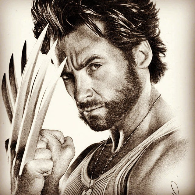 The Classic Movie Wolverine Beard