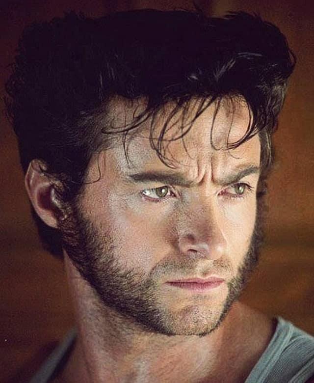 Vintage Wolverine Facial Hair