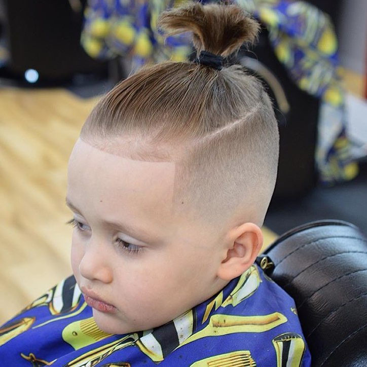 hairstyle for 10 year old boy