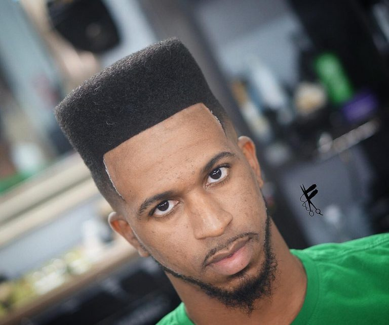 taper fade curly top
