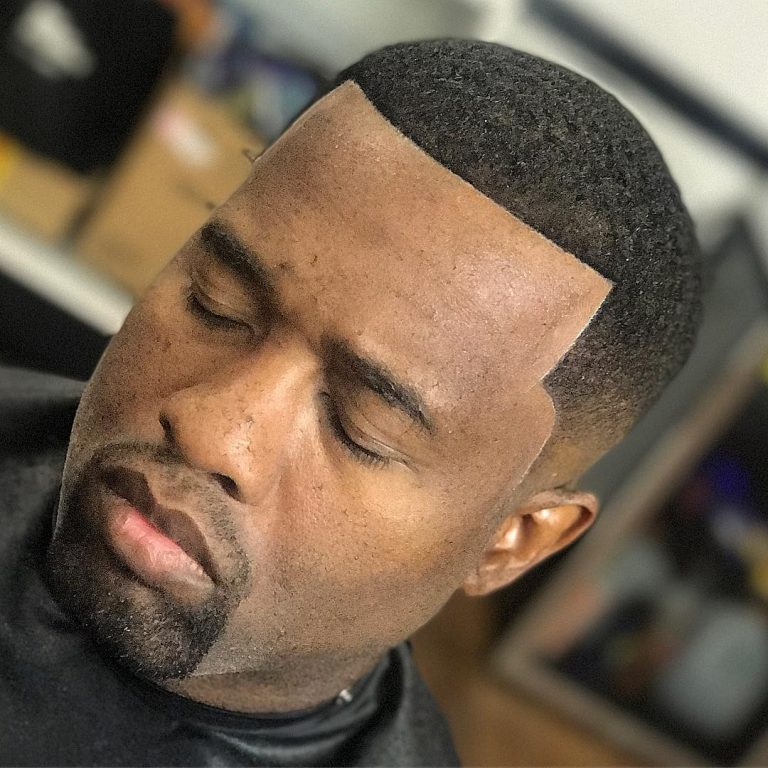 black men curls