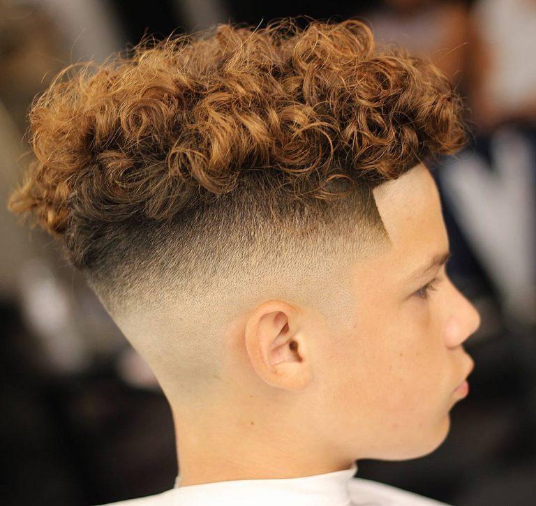 choppy hair men