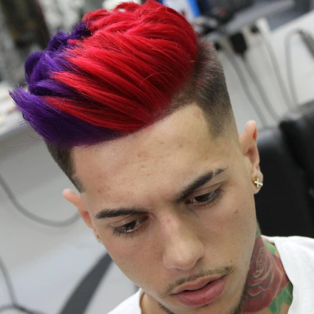 mens hair dye ideas