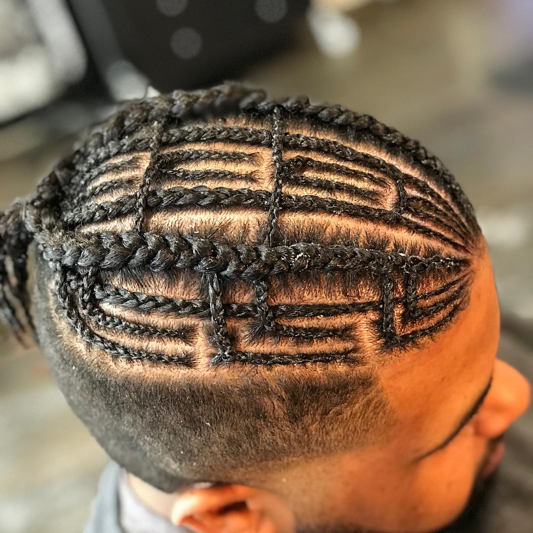male braiding hairstyles