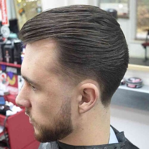 Ducktail Hairstyle-for-Balding-Men