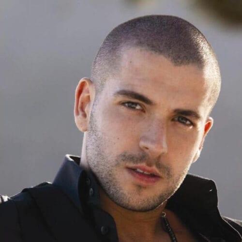 Buzz Cut Hairstyles for Balding Men