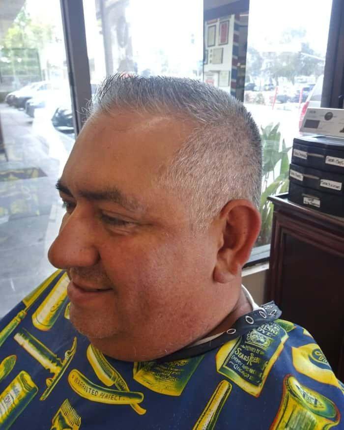 Crew Cut Hairstyles for Balding Men