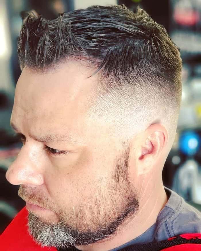 Faux Hawk Hairstyles for Balding Men