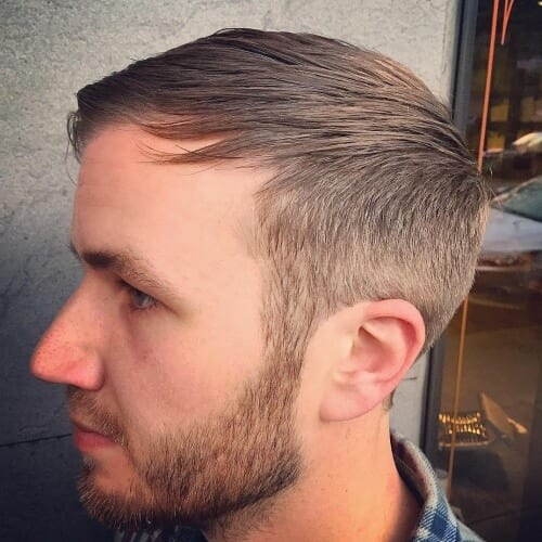 Front Combed hairstyles for balding men