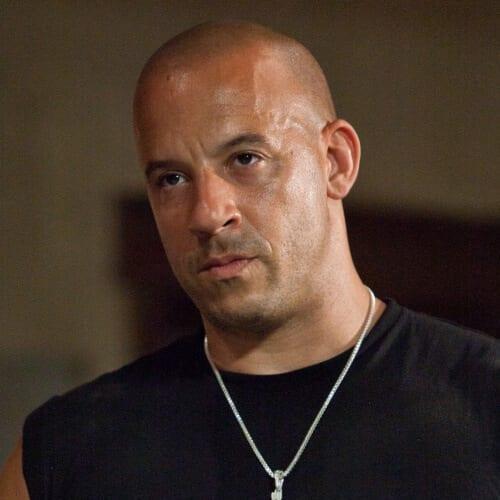 Fully Shaved – Vin Diesel Look hairstyles for balding men