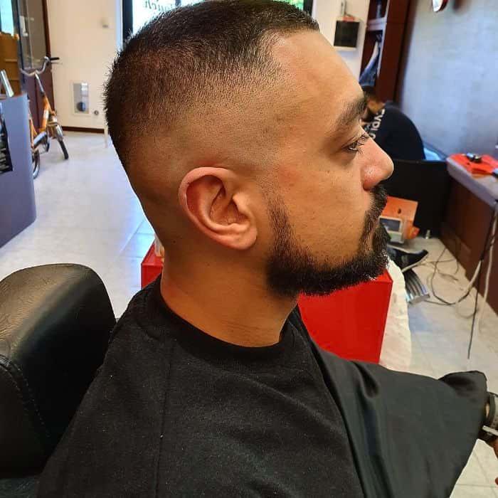 Haircut for Bald Spot on Crown Butch cut