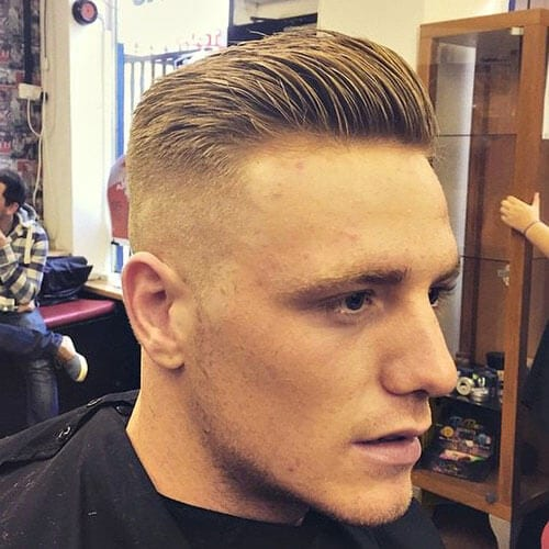 High and Tight hairstyles for balding men