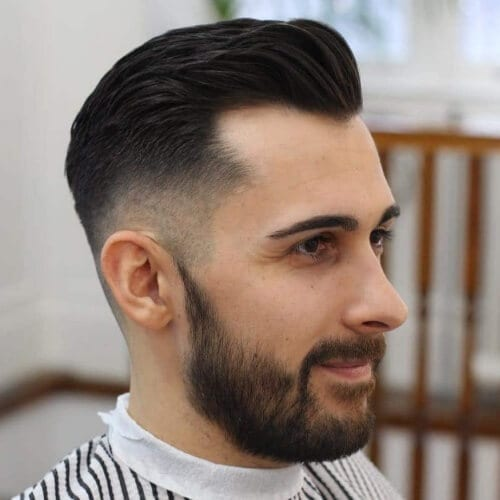 Low Fade Hairstyles for Balding Men