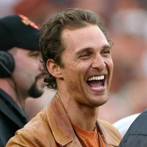 Matthew McConaughey Hairstyles for Balding Men
