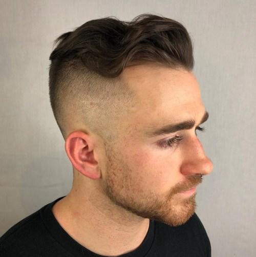 Receding Hairline Shaved hairstyles for balding men
