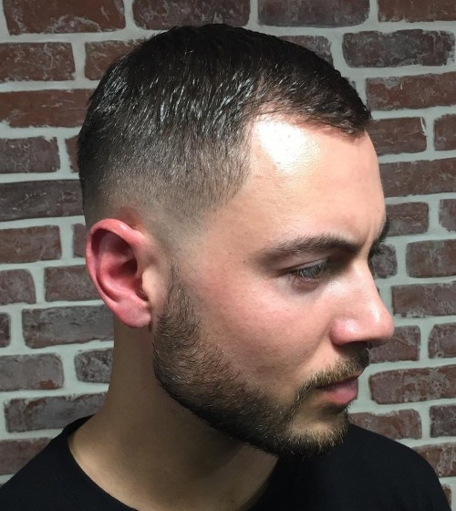 Skin Fade with Short hairstyles for balding men