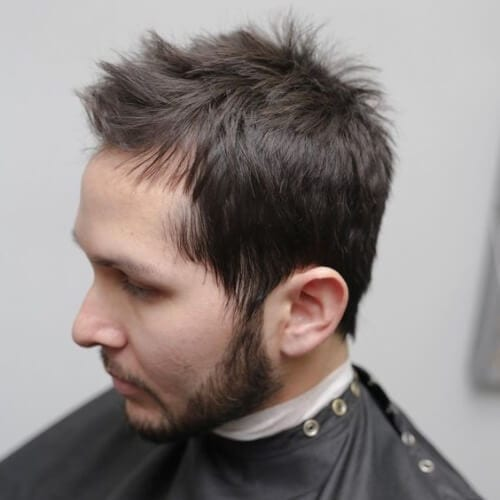 Textured Hairstyles for Balding Men