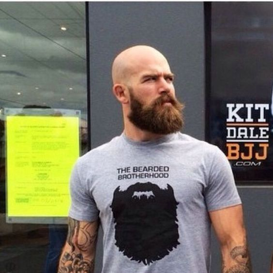 Bald and Beard make you stronger in the bed