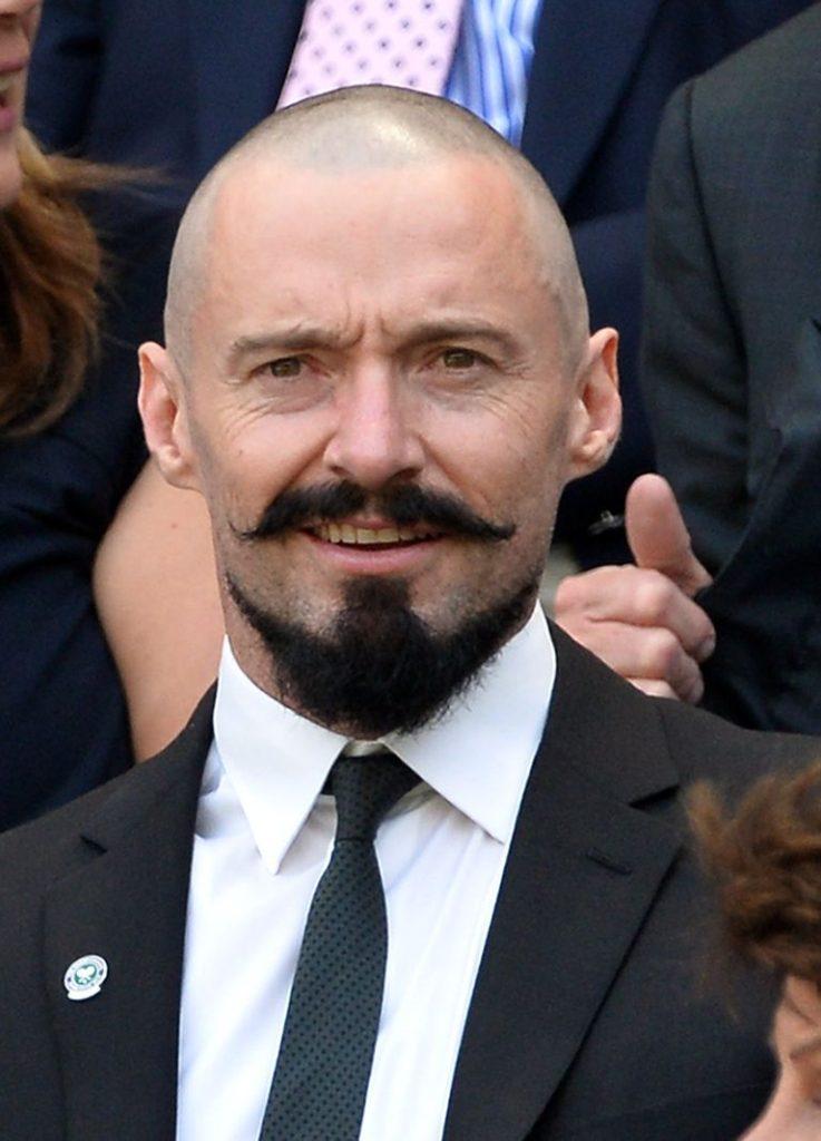 Van Dyke bald with beard