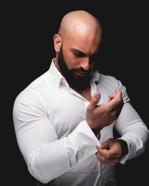 Women Like bald with beard