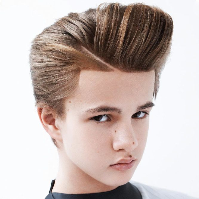 Awesome Pompadour boys haircuts