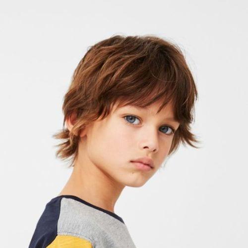 Boho Boys Haircuts – Messy Bangs