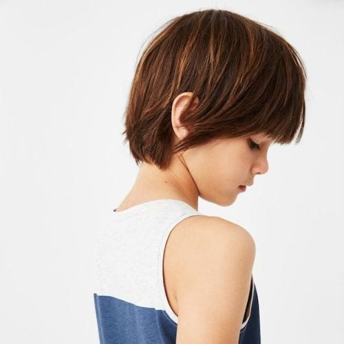 boys haircuts Classy and Chic – Trimmed Front, Loose Back and Sides
