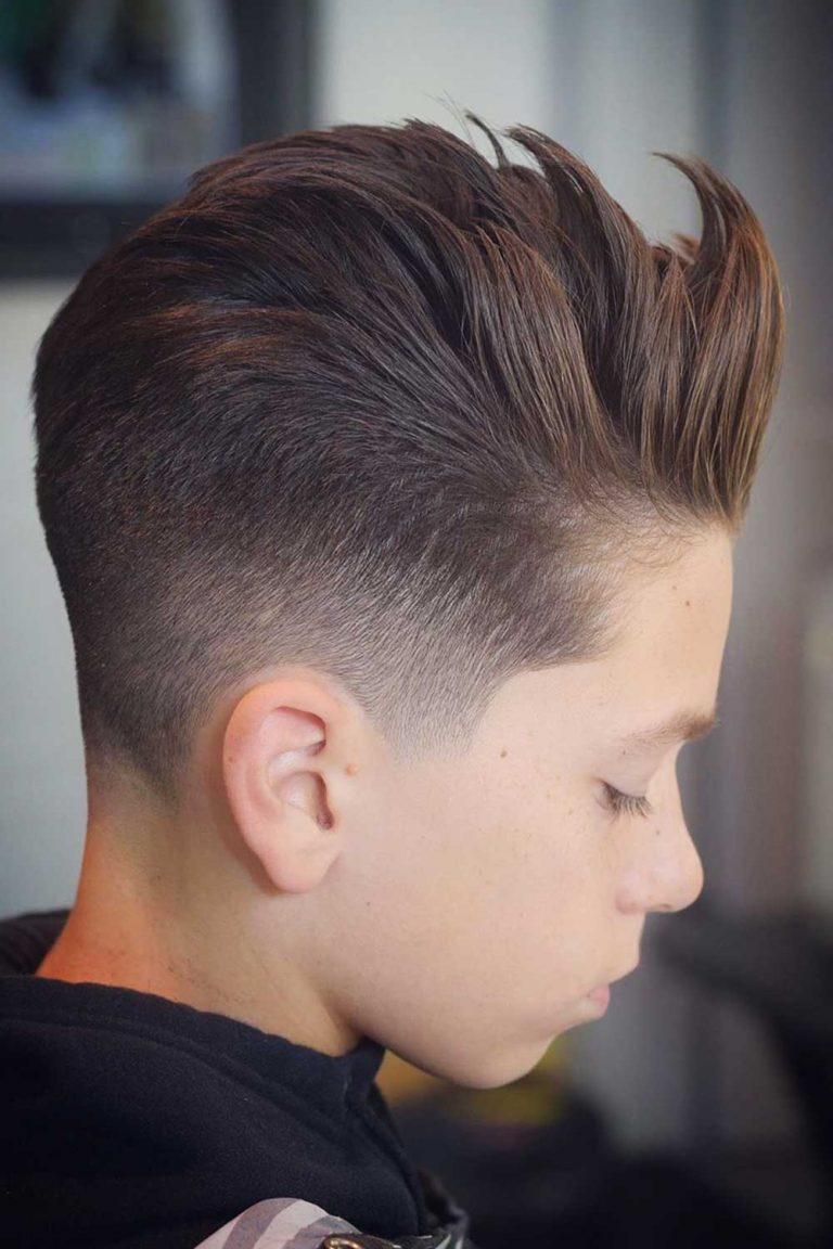 boys haircuts Short On Sides, Long On Top
