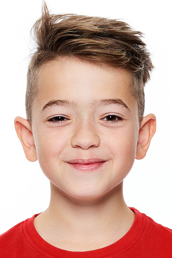boys haircuts Undercut With Short Textured Top