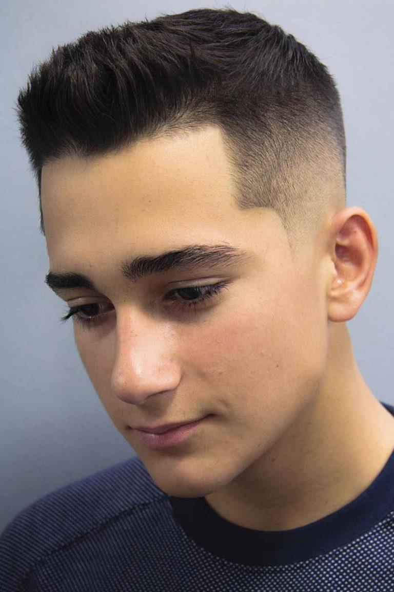 Chic boys haircuts Ivy League Cut