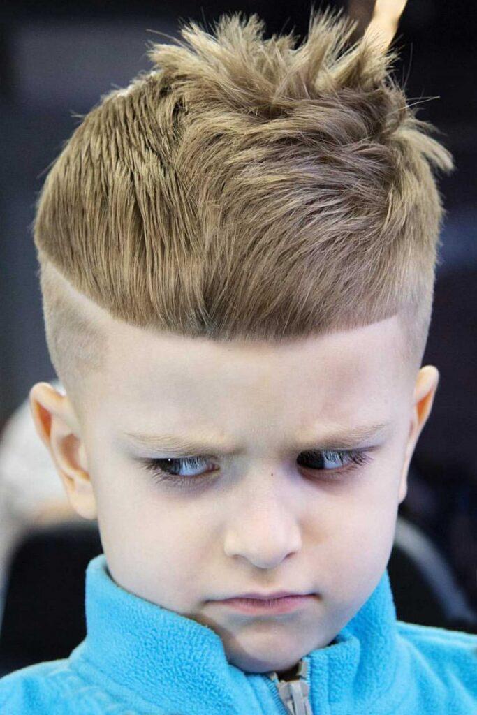 Cool Messy boys haircuts Short
