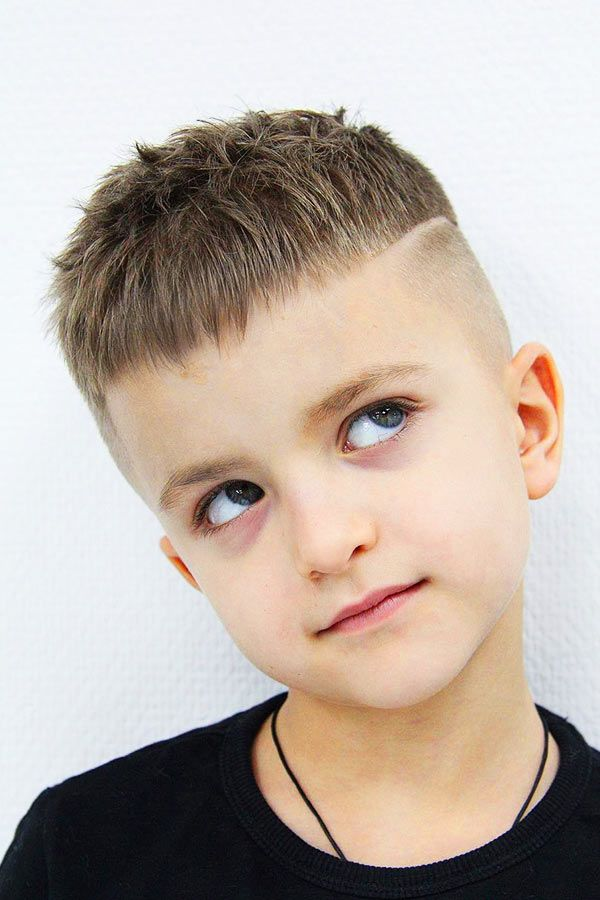 Disconnected boys haircuts Taper Fade