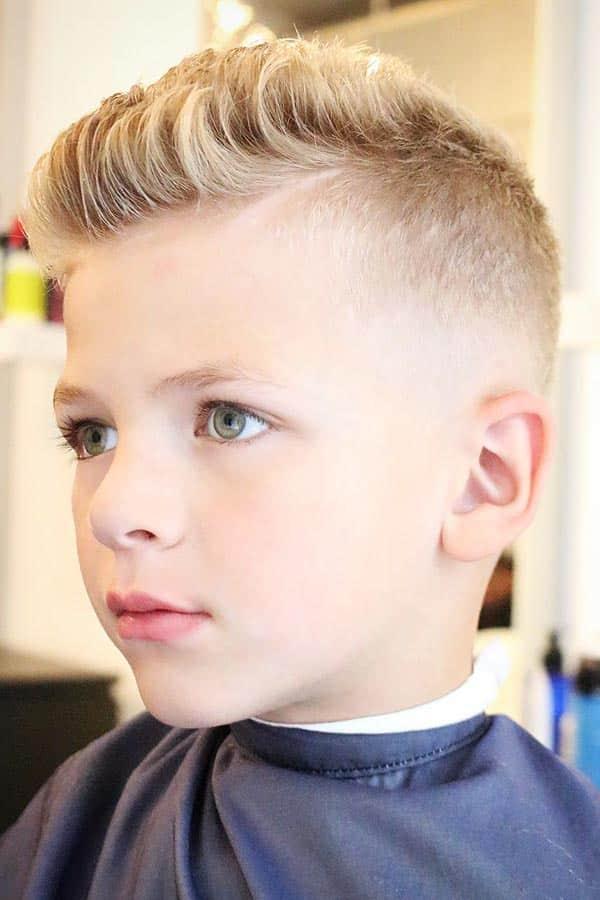 Faux Hawk For Little boys haircuts