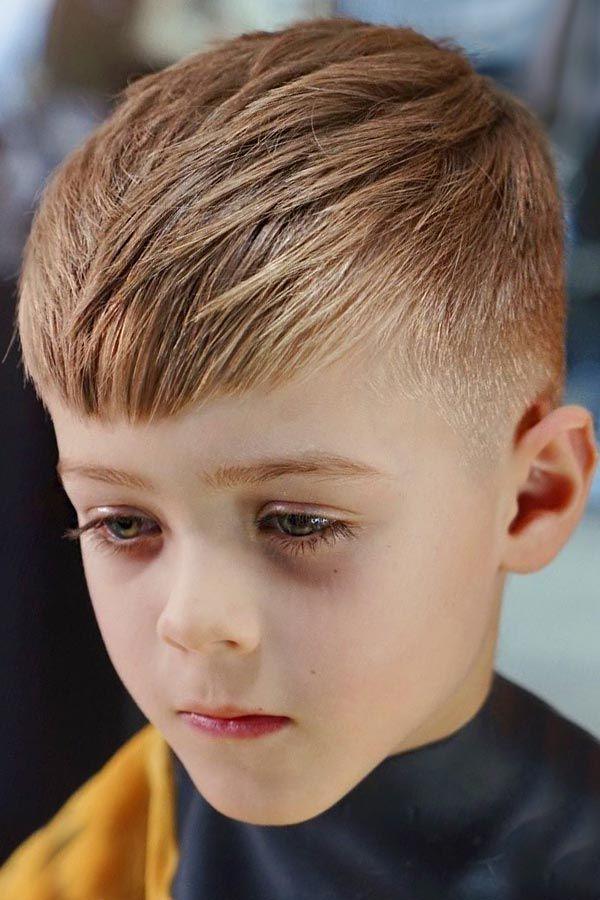 Longer Bang For Toddler boys haircuts