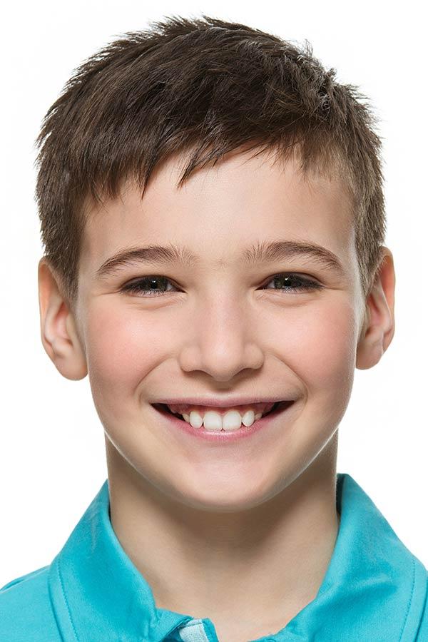 Short Layered Kids Cut boys haircuts