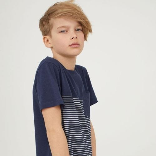 Swept Away – Short Sides, Long Top, Side Swept boys haircuts