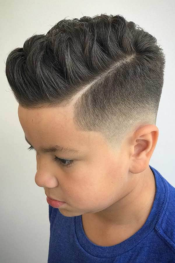 Textured Comb Over For You boys haircuts