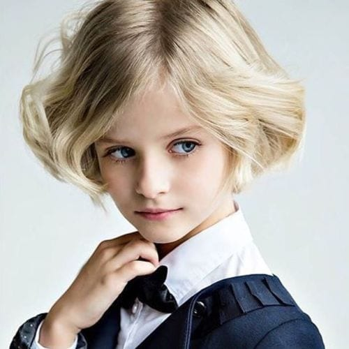 The Little Master boys haircuts – Blonde Soft Waves
