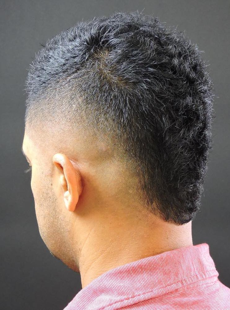 high skin fade Hand Brushed Small Quiff