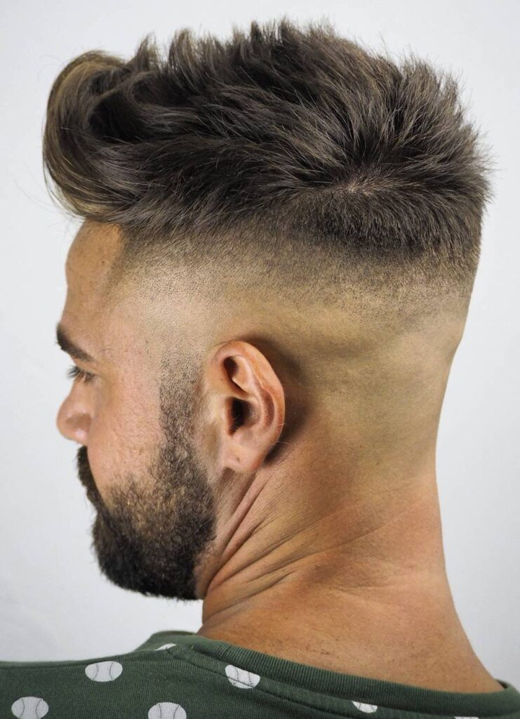 Tiger's Claw Shave with Fine high skin fade