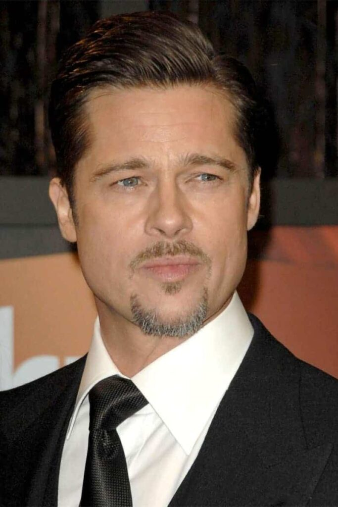 Brad Pitt van dyke beard