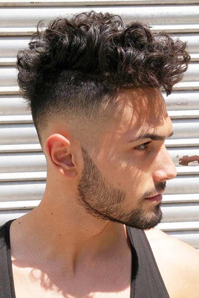 Curly Undercut Fade