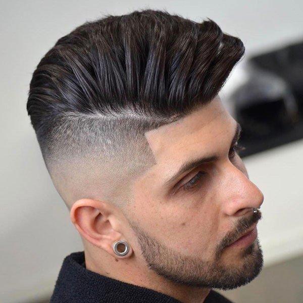 High Undercut-Fade haircut