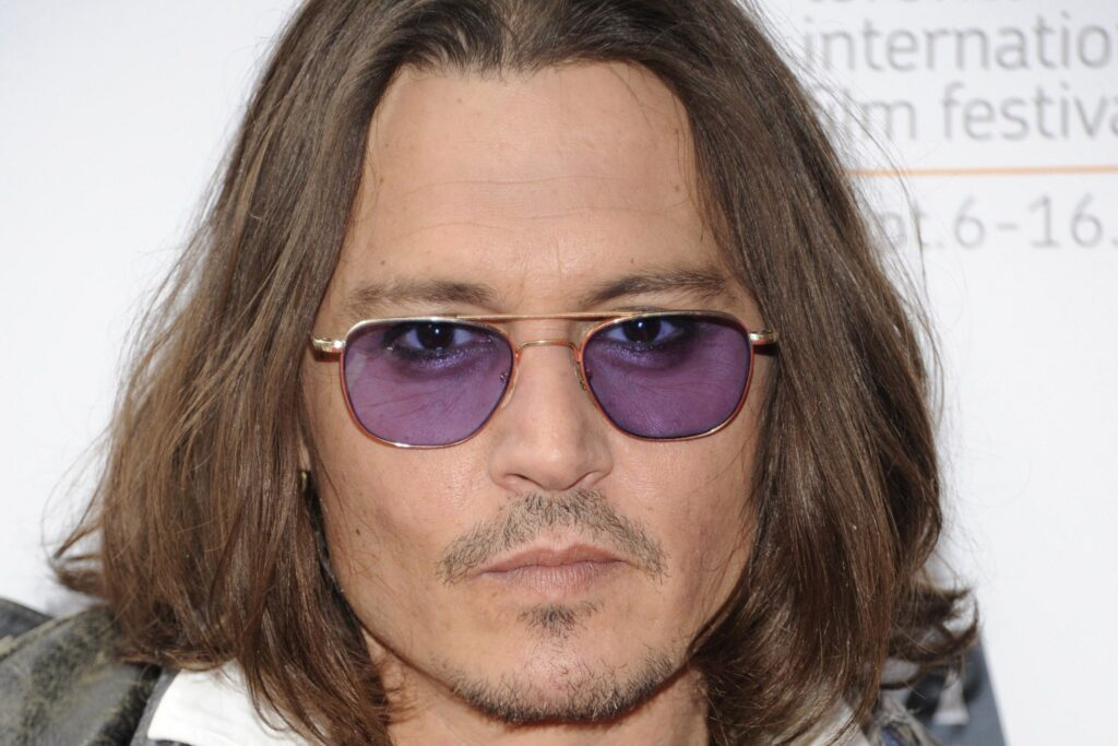Johnny Depp van dyke beard