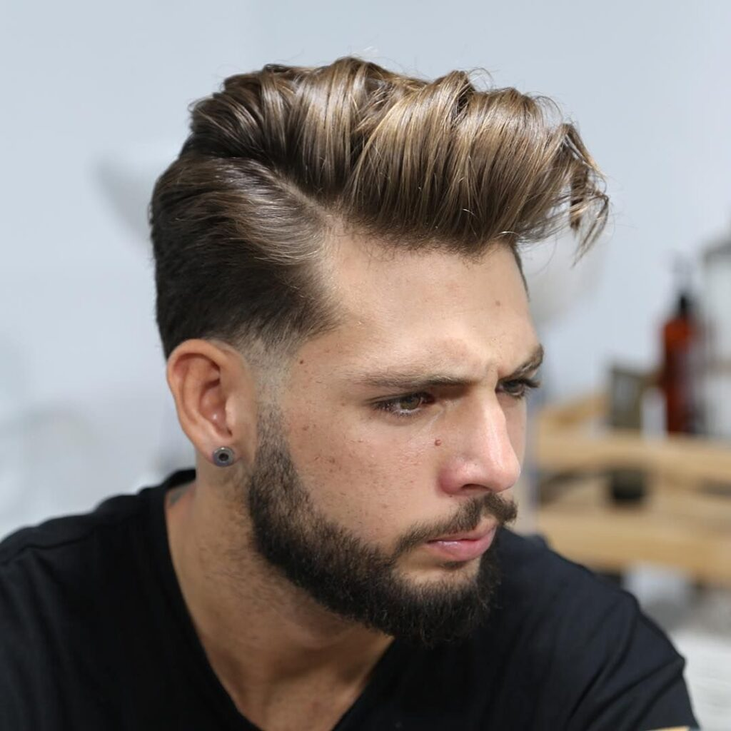 Long Comb Over hairstyle