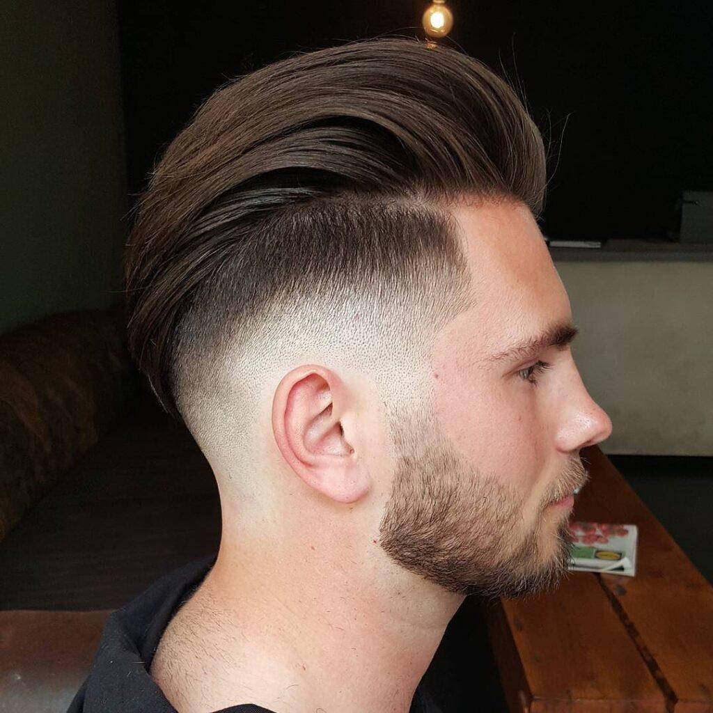 Long Length Undercut Fade Haircuts