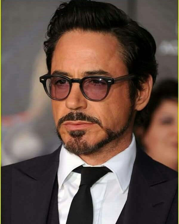 Robert Downey Jr. van dyke beard
