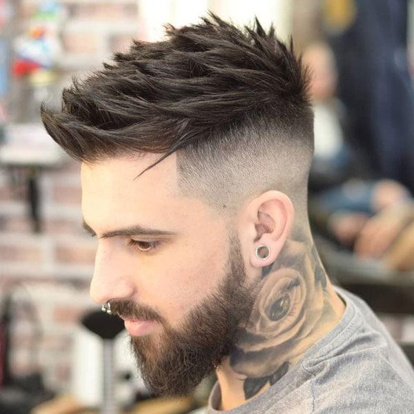 Short Hair Undercut Fade