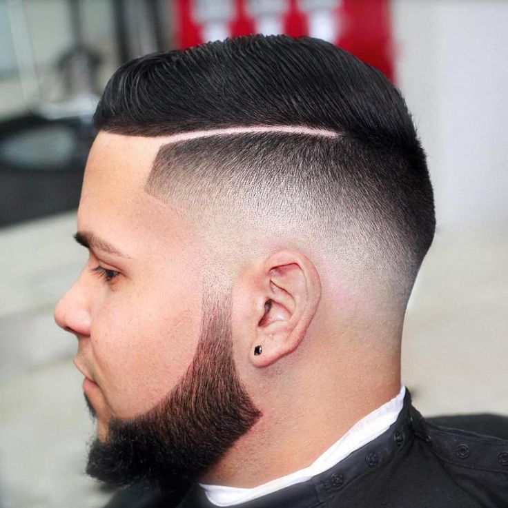 Slick Comb Over hair