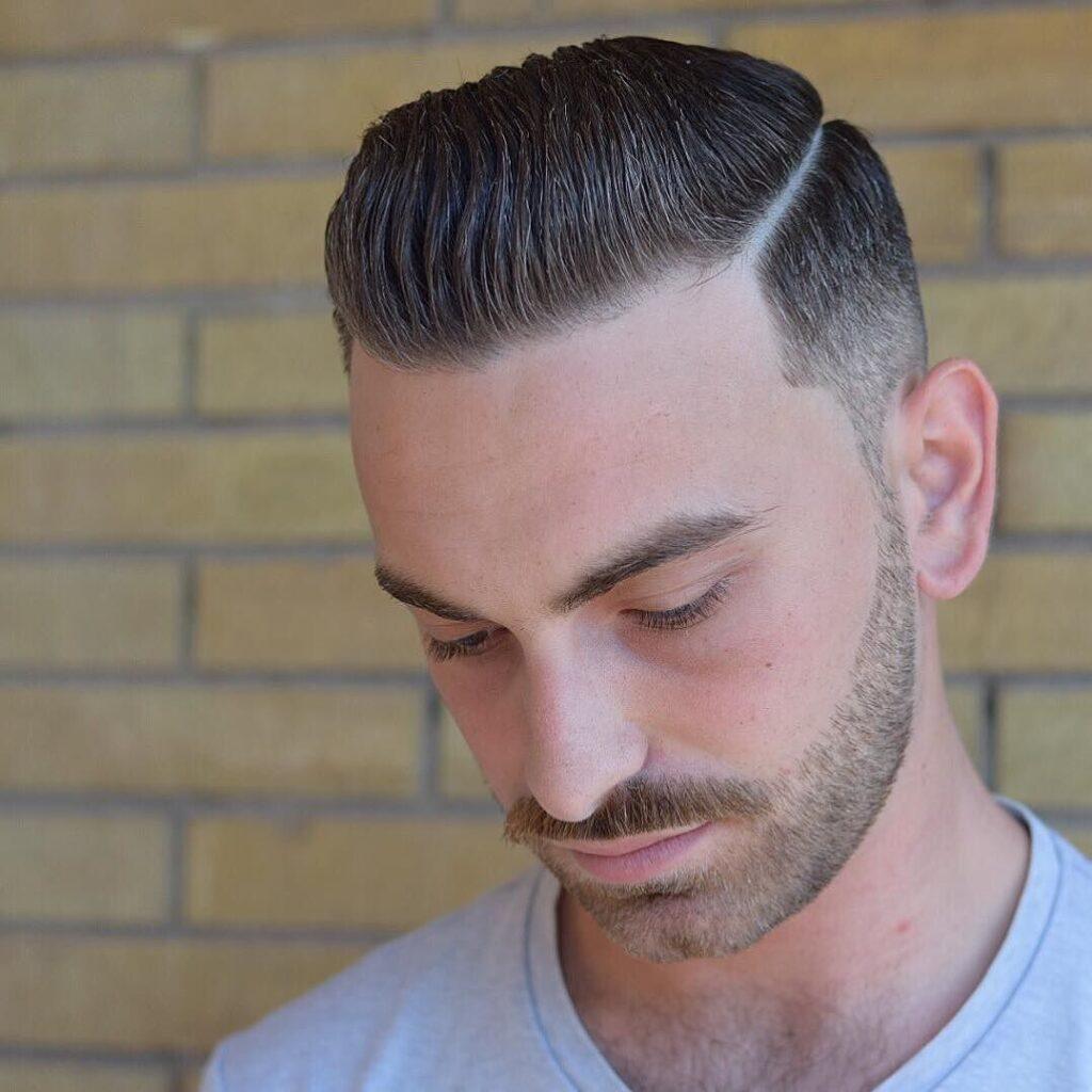 Slick Comb Over haircut